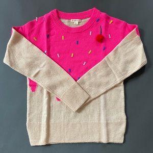 Crewcuts ice cream wool sweater